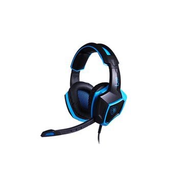 HEADPHONE SADES LUNA - SA 968 (GAMING HEADSET )