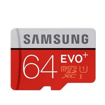 MICRO-SD 64GB Samsung Evo plus -CL10W- Class 10