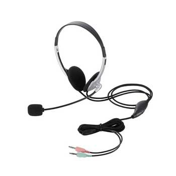 HEADPHONE Elecom HS-HP22SV (Bạc)