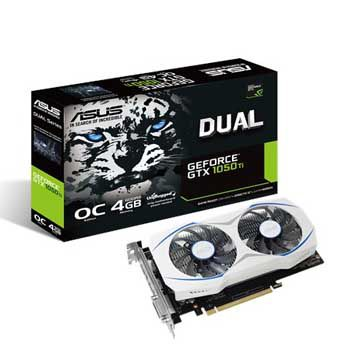 4GB ASUS DUAL-DUAL-GTX1050TI-O4G-V2 (DUAL FAN)