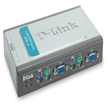 KVM SWITCH DLINK 4K PS2