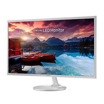 """LCD 32"""" SAMSUNG LS32F351FUEXXV (Màn hình phẳng Siêu Mỏng)(Màu trắng-Full Viền)"""