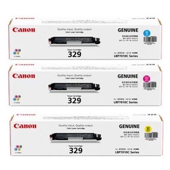 CANON 329C/M/Y