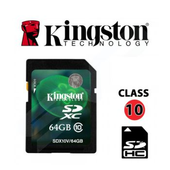 SD 64GB Kingston CLASS 10
