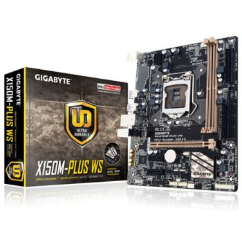 GIGABYTE X150M PLUS WS (1151) (Rev 1.0)