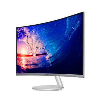 """LCD 27"""" SAMSUNG LC27F581FDEXXV (Full Viền)(Trắng))"""