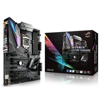 ASUS STRIX Z270E GAMING (SK 1151) Wi-Fi 802.11 a/b/g/n/ac Dual Band 2.4/5 Ghz with MU-MIMO