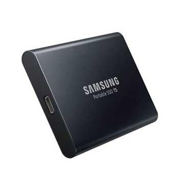 1TB Samsung T5 Portable - (MU-PA1T0B/WW) - EXTERNAL
