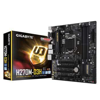 GIGABYTE H270M-D3H (1151)