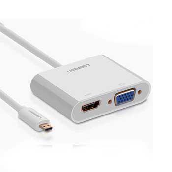CABLE Micro HDMI - VGA/ HDMI UGREEN 30354
