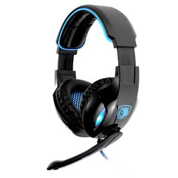 HEADPHONE SADES SBPOWER SNUK - SA 902 (GAMING HEADSET )