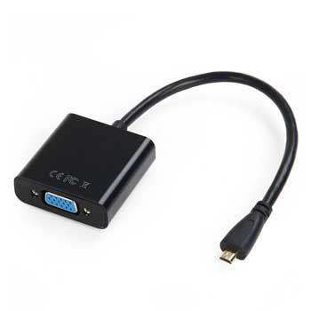 CABLE Micro HDMI - VGA NEO NMHVA-BLK