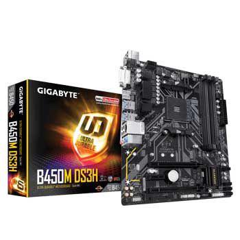 GIGABYTE B450M DS3H (SK AM4)