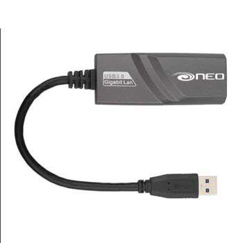Đầu đổi USB - LAN NEO NEA30-BLK