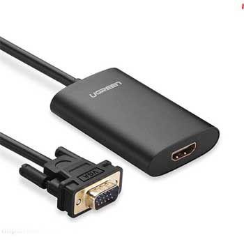 CABLE VGA ra VGA to HDMI Có Âm Thanh Ugreen 40264