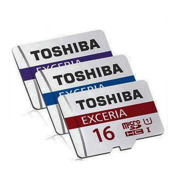 MICRO-SD 16GB TOSHIBA Retail, Class 10 THN-M302R0160A2