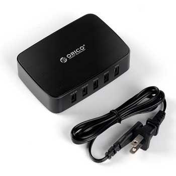 Sạc điện thoại USB 5 cổng & 1 cổng OTG ORICO DCT-5U