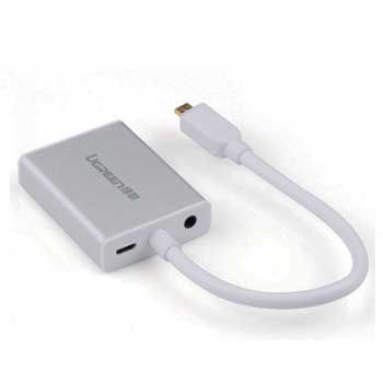 CABLE Mini HDMI - VGA + Audio UGREEN 40217