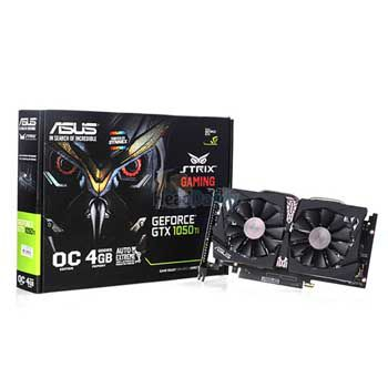4GB ASUS STRIX-GTX1050TI-DC2O4G-GAMING